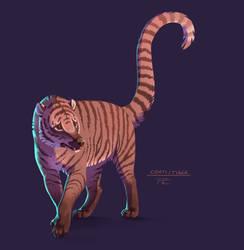 Animal Mashup: Coati-Tiger