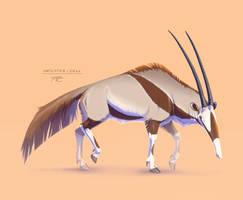 Animal Mashup: Anteater-Oryx