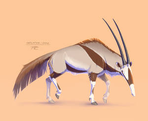 Animal Mashup: Anteater-Oryx