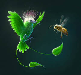 Bird or plant?