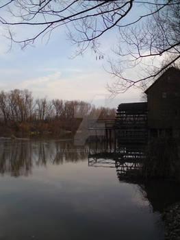 Watermill at River Maly Dunaj2