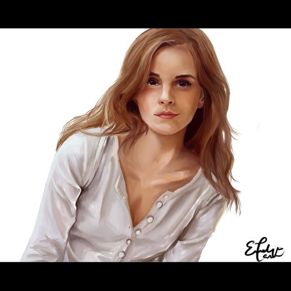 Emma Watson by E-tane