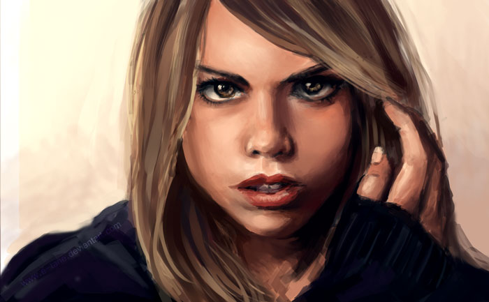 CS: Rose Tyler by E-tane