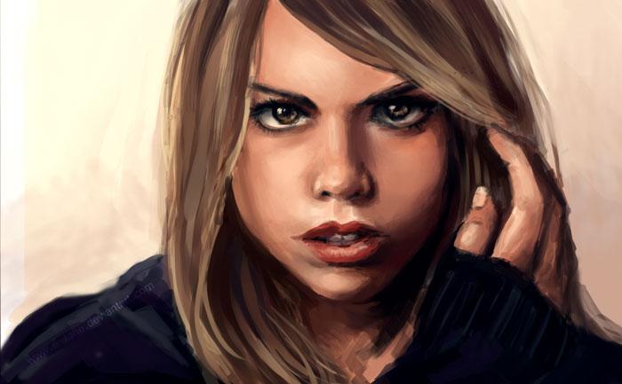 CS: Rose Tyler by E-tane