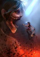 Attack on Titan by E-tane