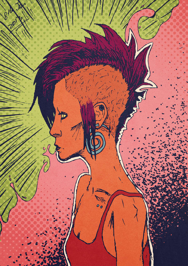 Mohawk 2 by Hpkipmc