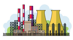 Large Power Plant