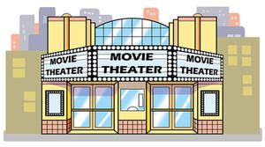 Movie Theater W Bg