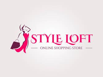 Logo for online shopping store