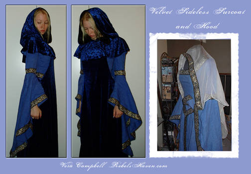 Sideless Surcoat and Hood