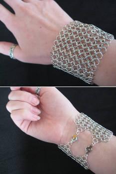Chainmail Cuff Bracelet