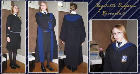 Hogwarts Ravenclaw Uniform by Verdaera