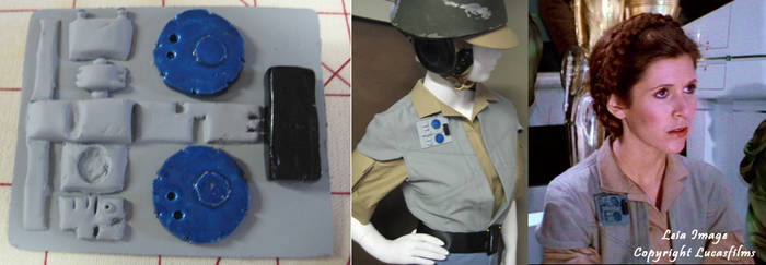 Endor Leia Rank Badge by Verdaera