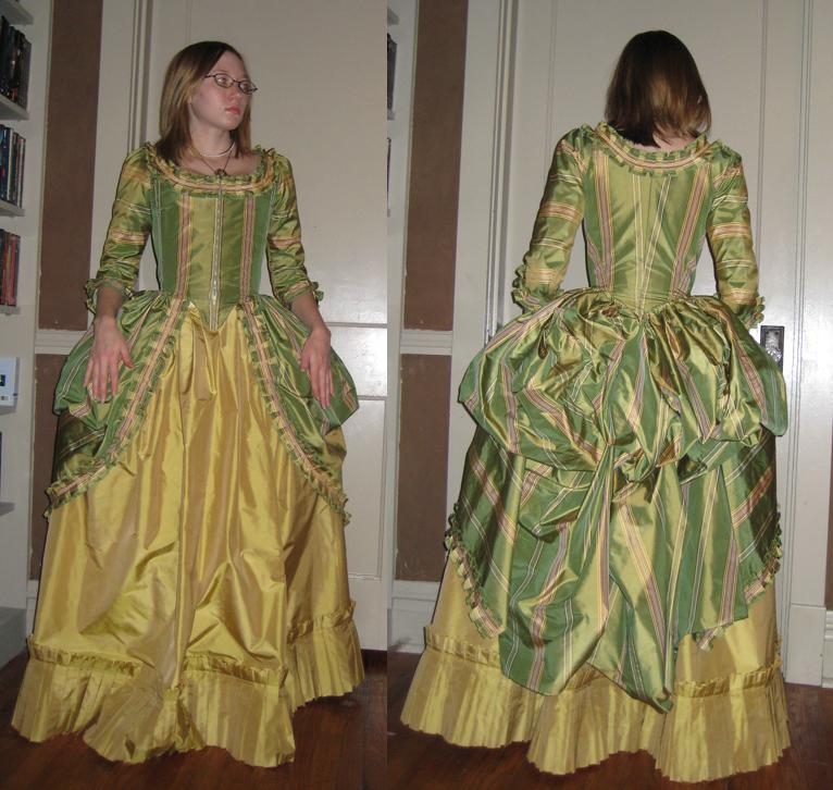 18th Century Gown by Verdaera on DeviantArt
