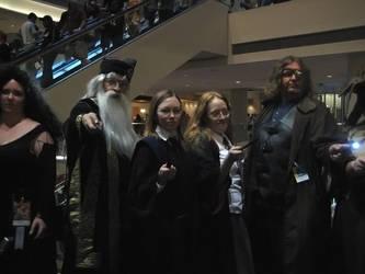 Hogwarts at DraconCon 2009 by Verdaera