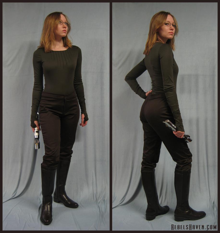 ... Jedi Undertunic Pants + Boots by Verdaera  sc 1 st  DeviantArt & Jedi Undertunic Pants + Boots by Verdaera on DeviantArt