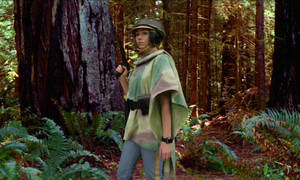 Leia on the Forest Moon