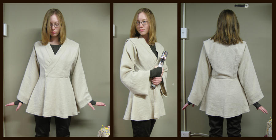 Female Jedi Tunic by Verdaera