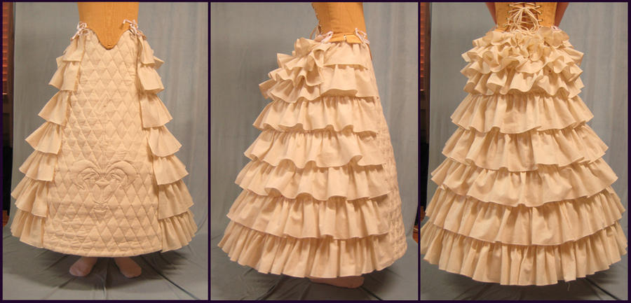 Padme Cut Senate - Hoopskirt by Verdaera