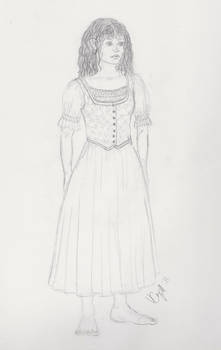 Hobbit Design Sketch BW