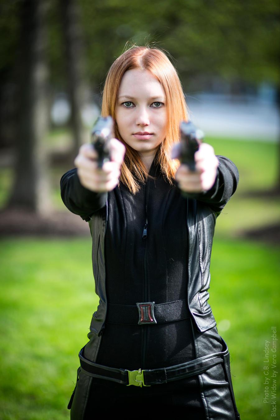 The Black Widow by Verdaera