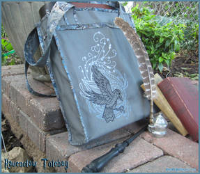 Ravenclaw Inspired Tote Bag