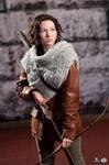 Hunting for Turkeys - Katniss Woven Cowl