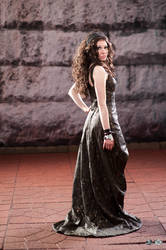 Katniss Everdeen: 75th Tribute Parade Back