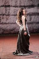 Katniss Everdeen: 75th Tribute Parade Back by Verdaera