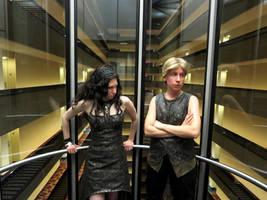 Elevator Ride by Verdaera