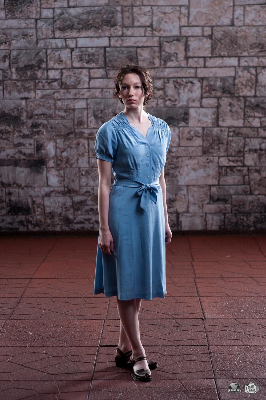 Katniss Everdeen - Reaping Day by Verdaera