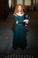 'Historically Accurate' Merida -C2E2 by Verdaera