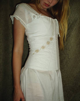 Regency Era Corset Close-up