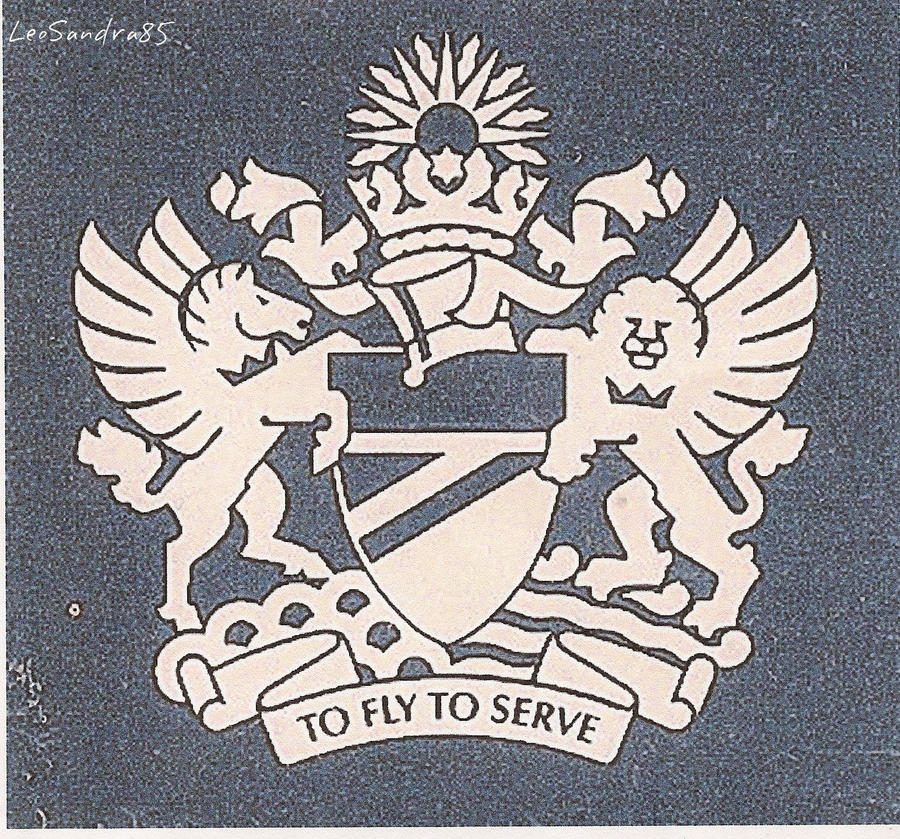 british airways coat of arms to fly to serve by