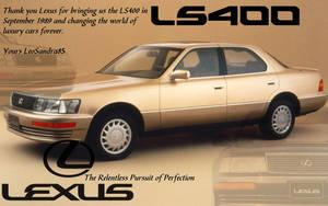 Lexus LS400 Tribute