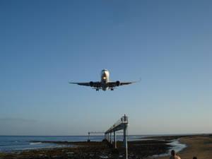 Landing in Lanzarote 2