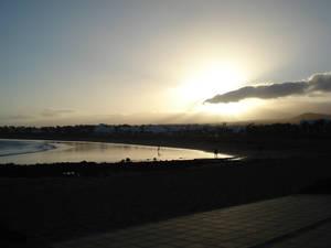 Sunset over Puerto Del Carmen