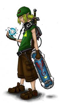 Link, coloured