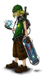 Link, coloured by Ginjirou