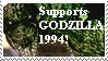 Support AMERICAN GODZILLA 1994 by KaijuX