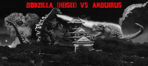 The KaijuX Canon - Godzilla vs. Anguirus by KaijuX
