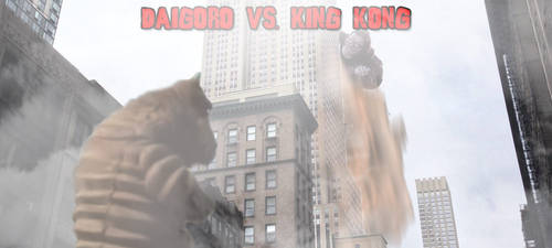 KWC - Daigoro vs. King Kong V1 by KaijuX