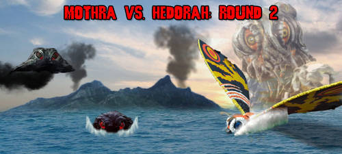 KWC - Mothra (H) vs. Hedorah (S) - Round 2 by KaijuX