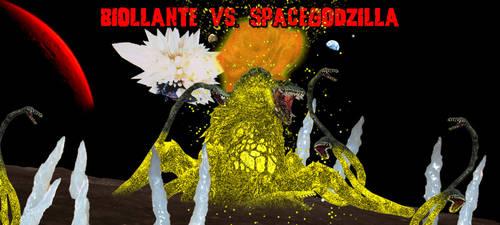 KWCB - Biollante vs. SpaceGodzilla by KaijuX