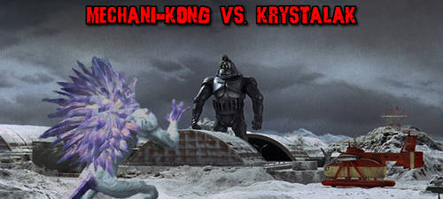 KWC - Mechani-Kong vs. Krystalak by KaijuX