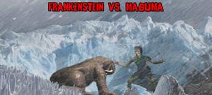 KWC - Frankenstein vs. Maguma by KaijuX