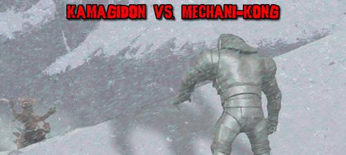 KWC(E) - Kamagidon vs. Mechani-Kong by KaijuX