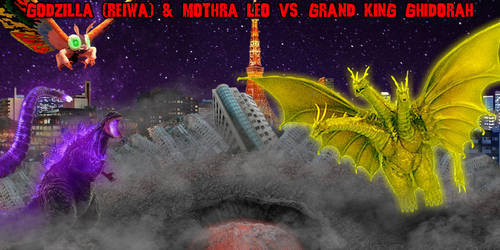 KWC - Godzilla (Reiwa) and Mothra Leo vs. GKG