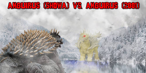 KWC - Anguirus (Showa) vs. Anguirus (2001)