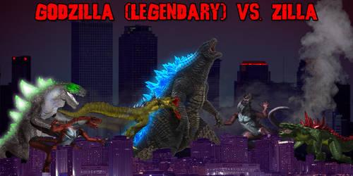 KWC - Godzilla (Legendary) vs. Zilla